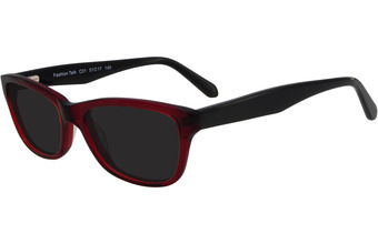 Fashion Talk Sun Rojo y negro