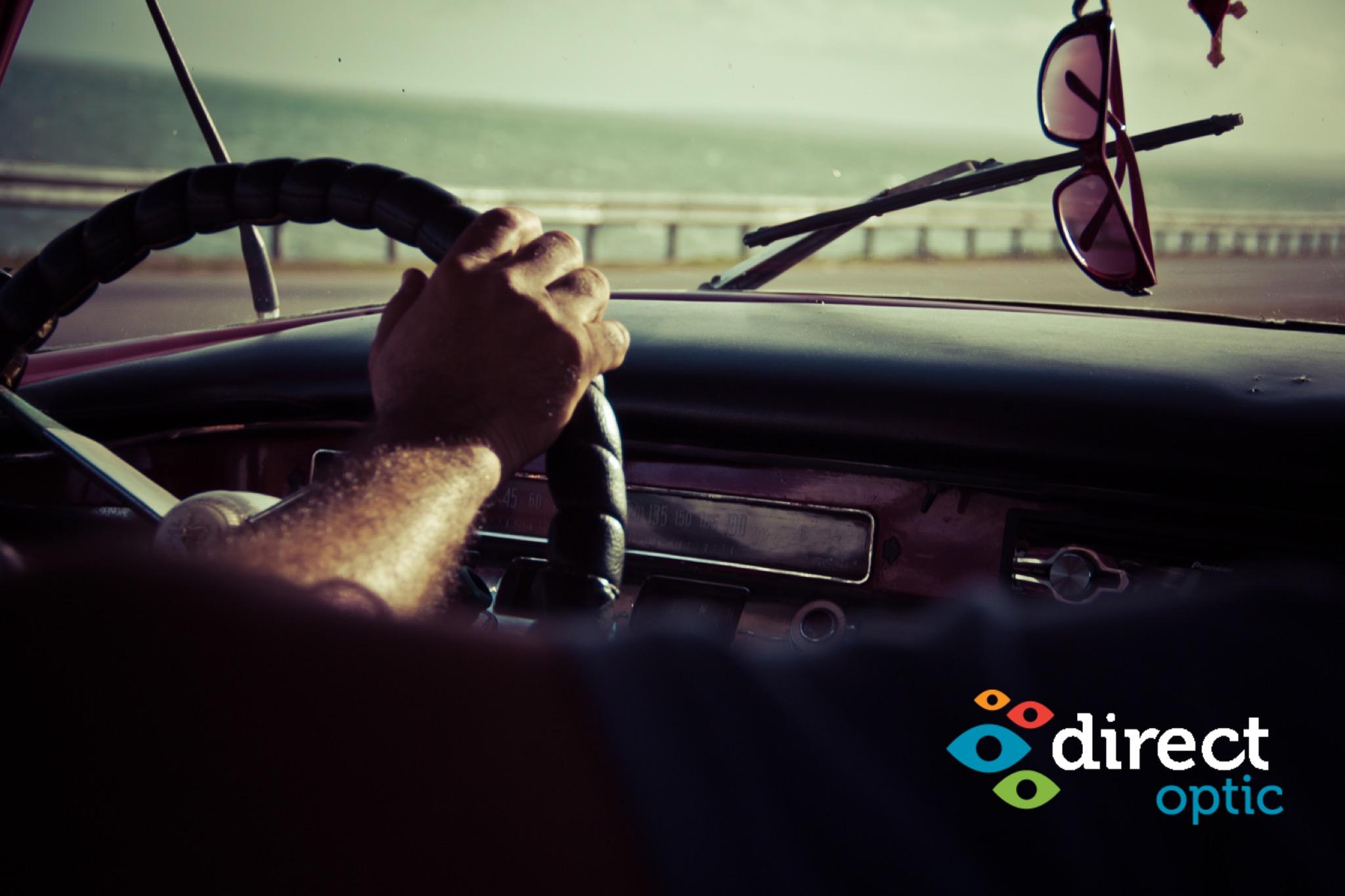 occhiali alla guida con Direct Optic Italia