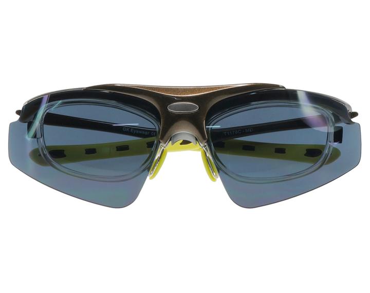 lunettes cyclisme monture blazer sport pour le v lo verres correcteurs adaptables. Black Bedroom Furniture Sets. Home Design Ideas