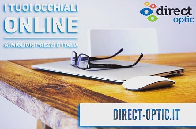 Direct Optic i tuoi occhiali su internet