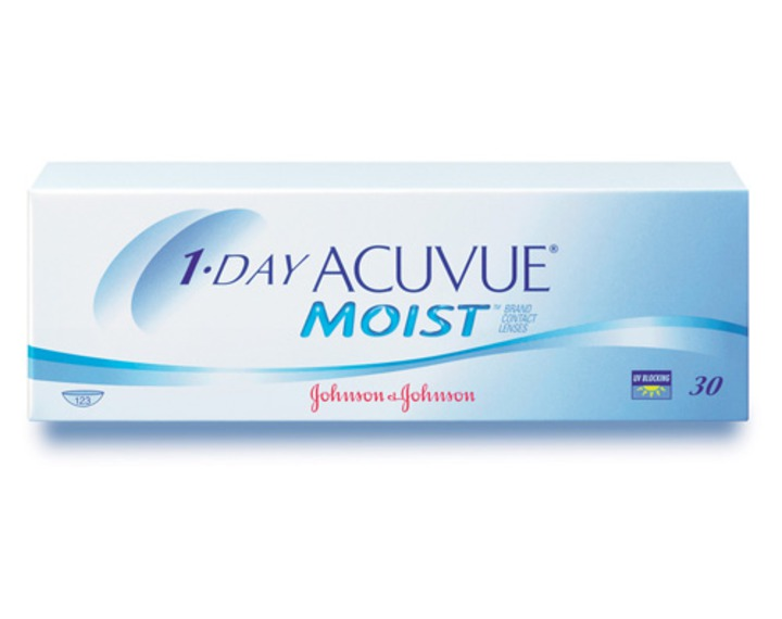 lenti a contatto 1 day acuvue moist 30 convenienti acuvue. Black Bedroom Furniture Sets. Home Design Ideas