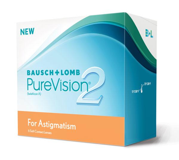 Lentilles PureVision 2 HD For Astigmatism moins chères ...