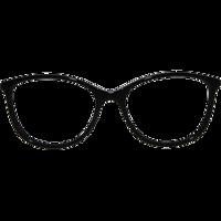 Monture Lovely Noir Et Doré - Lunettes femme en métal et plastique f6248732b9cd