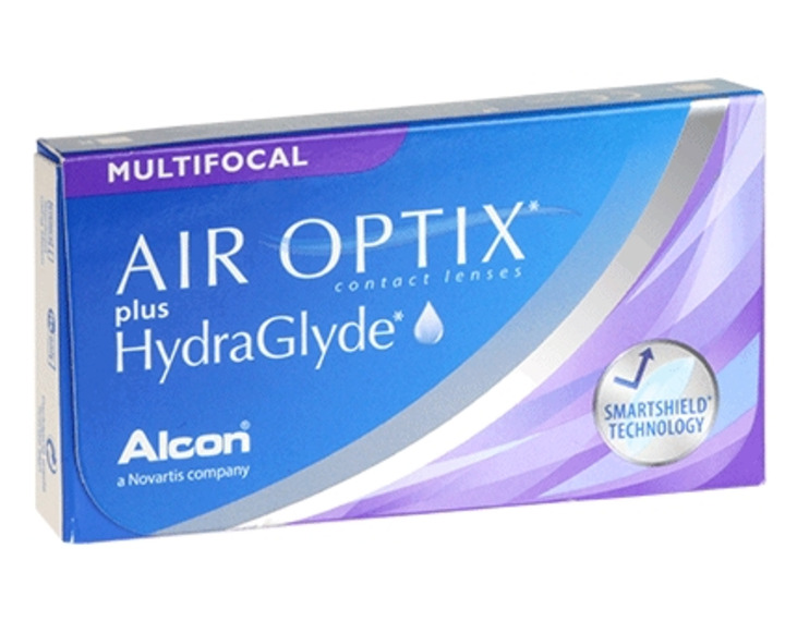 Image de Air Optix Plus Hydraglyde Multifocale 6L