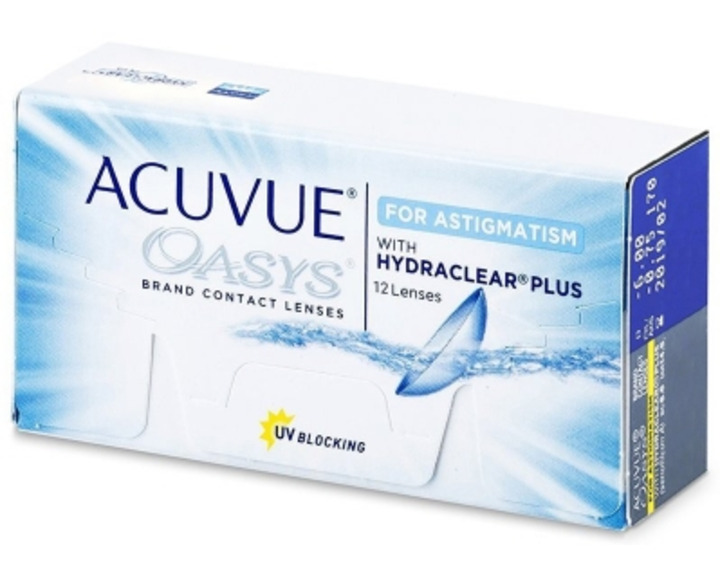 Image de Acuvue Oasys For Astigmatism 12L