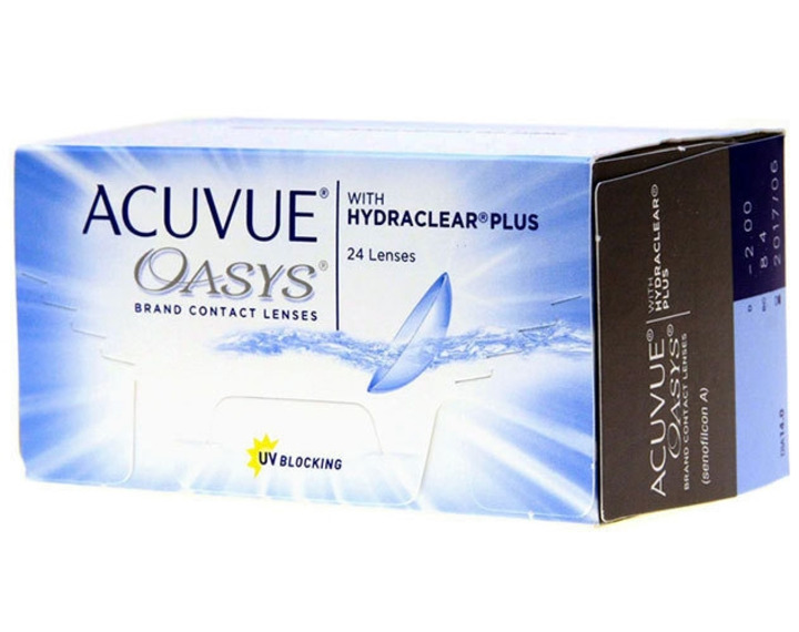 Image de Acuvue Oasys With Hydraclear Plus 24L