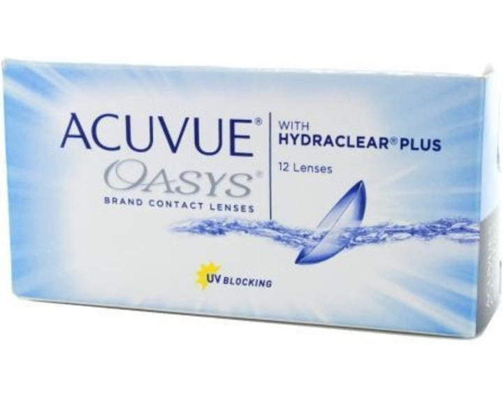Image de Acuvue Oasys With Hydraclear Plus 12L