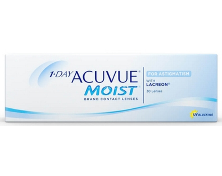 Image de 1 Day Acuvue Moist For Astigmatism 30