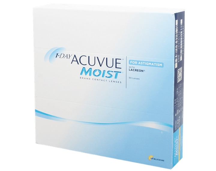 Image de 1 Day Acuvue Moist For Astigmatism 90L