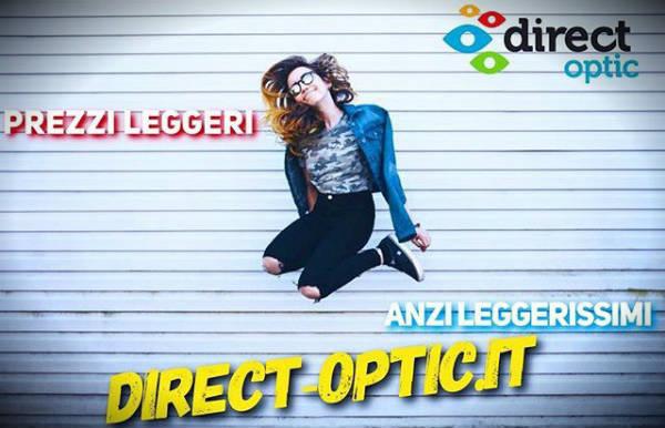 prezzi leggerissimi con Direct Optic