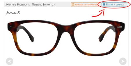 ef3b74a2ef6109 Essai à domicile de lunettes - Opticien en ligne Direct Optic